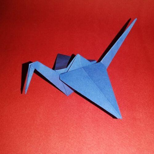 Make An Origami Crane, HD Png Download - vhv | 500x500
