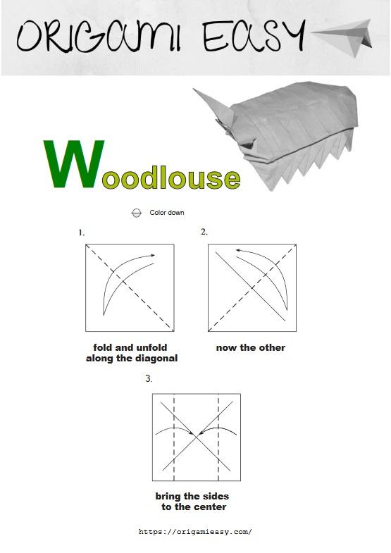 Squirrel | Origami easy, Origami crafts, Origami instructions | 785x555
