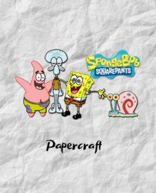sponge-bob-square-pants-papercraft-characters-pdf