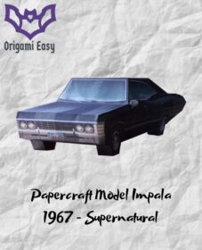 origami-papercraft-supernatural-car-pdf-impala-1967