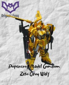 template-gundam-papercraft-zeta-gray-wolf