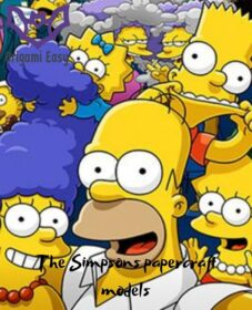 The simpsons-papercraft-models-printable