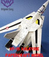 VF-1S-VALKYRIE-papercraft-model-macross-robotech