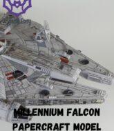 millenium-falcon-papercraft-model-templates-free