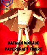 batman-papercraft-vintage-model-paper-toy