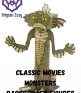classic-movies-monsters-papercraft-models