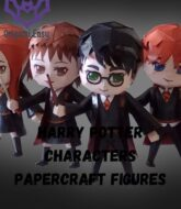 harry-potter-characters-papercraft-figures