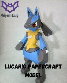lucario-papercraft-template-printable