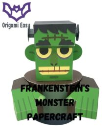 Frankensteins-Monster-Papercraft-Model-Cubee-Style