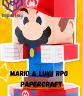 mario-y-luigi-rpg-papercraft-model