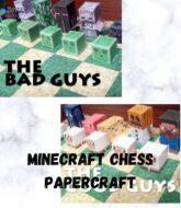 minecraft-chess-papercraft